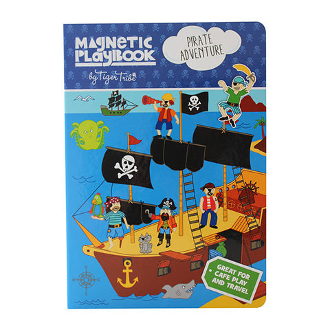 Tiger Tribe - Magnetic Play Book - Pirate Adventure