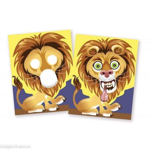 Melissa and Doug - Make-a-Face - Crazy Animals - Sticker Pad