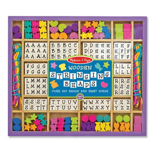 Melissa and Doug - Wooden Stringing Beads