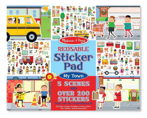 Melissa and Doug - Reusable Stickers - My Town