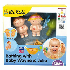 K's Kids - Bathing with Wayne & Julia