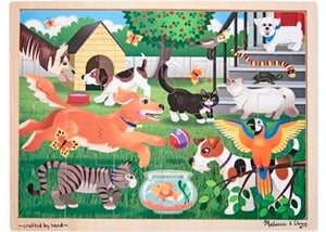 Melissa and Doug - 24 Piece Puzzle - Pets