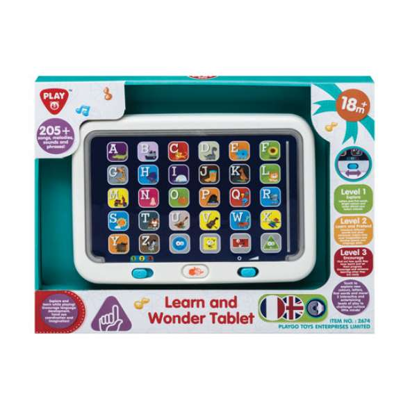 PlayGo - Learn & Wonder Tablet
