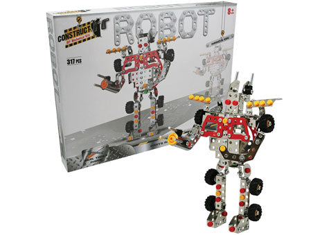 Construct It - Robot Construction Kit - 317 Pieces