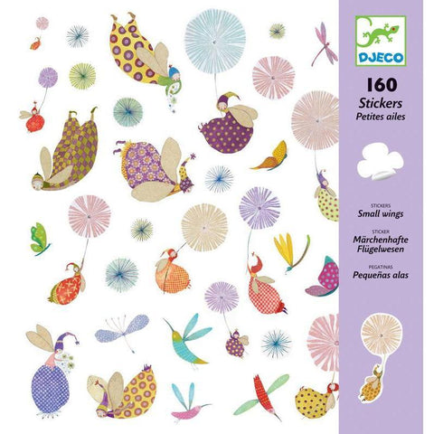 Djeco - Small Wings - 160 Stickers