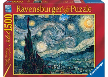 Ravensburger Puzzle -  Van Gogh Starry Night - 1500 Pieces