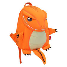 Nohoo - Dragon / Dinosaur Backpack - Orange