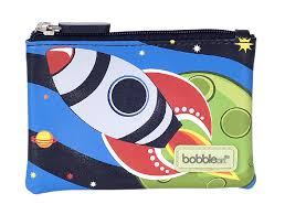 Bobble Art - Coin Purse / Wallet - Rocket
