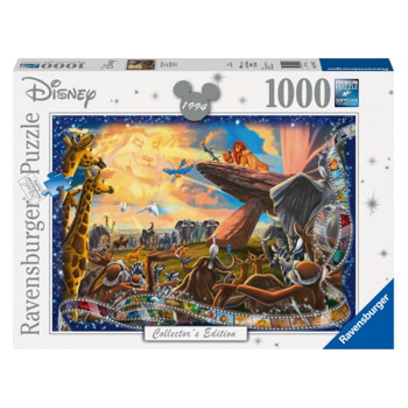 Ravensburger Puzzle - Lion King - 1000 Pieces