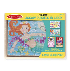 Melissa & Doug - Fanciful Friends Jigsaw Puzzles in a Box