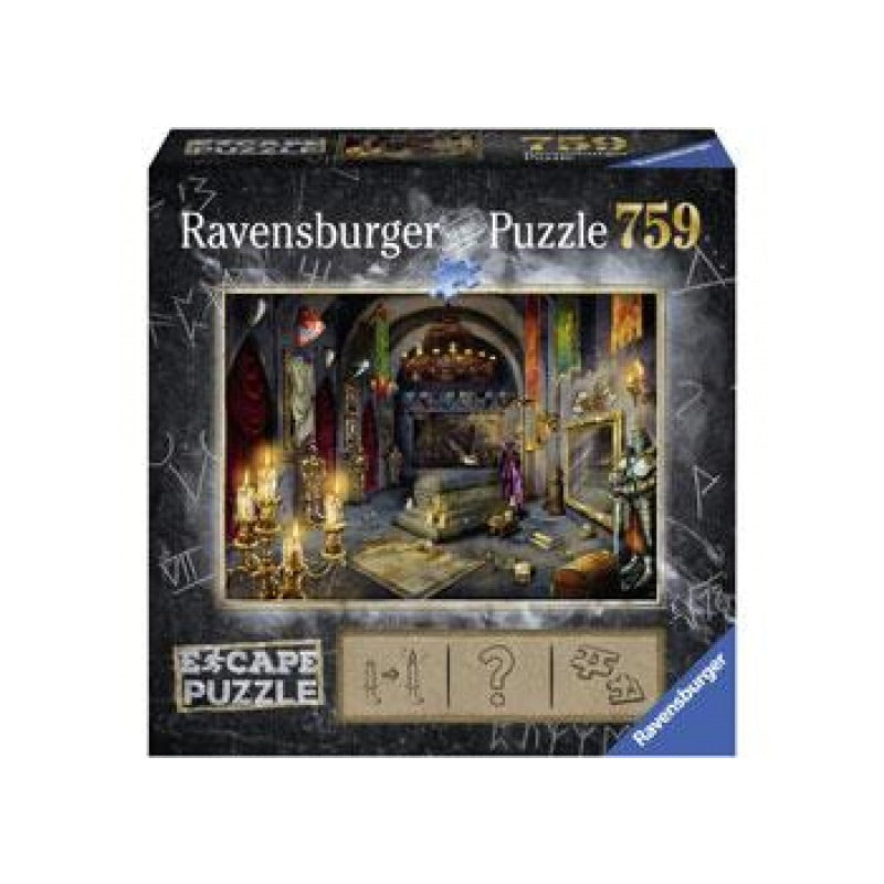 Ravensburger Puzzle - Escape - Vampire Castle - 759 Pieces