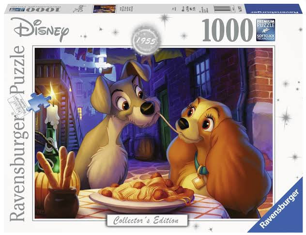 Ravensburger Puzzle - Lady and the Tramp - 1000 Pieces
