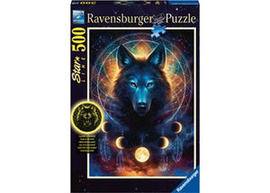 Ravensburger - Lunar Wolf - 500 Pieces