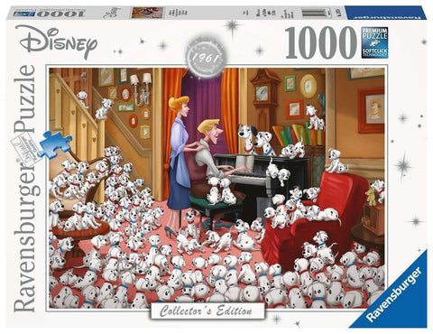 Ravensburger Puzzle - 101 Dalmations - 1000 Pieces
