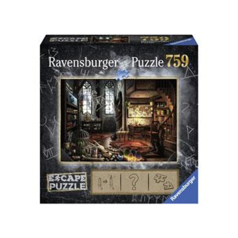 Ravensburger Puzzle - Escape - Dragon Laboratory - 759 Pieces