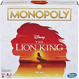 Monopoly - Lion King Edition Board Game