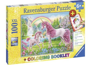 Ravensburger - Magical Unicorns Puzzle - 100 Pieces