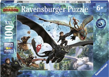 Ravensburger - How to Train a Dragon 3 - The Hidden World - 100 Pieces