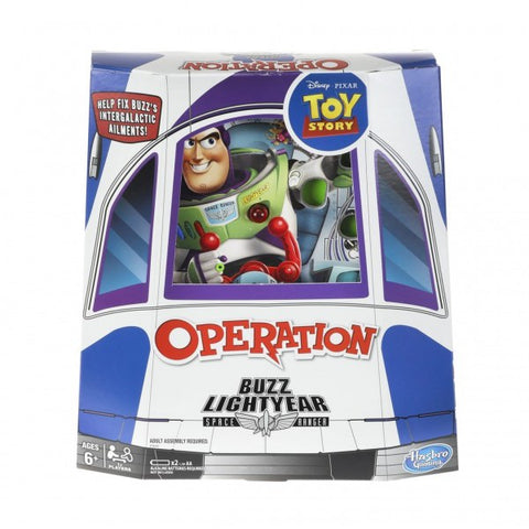 Operation Toy Story Buzz Lightyear Edition Board Game