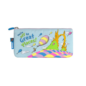 Amooze - Dr Suess - Oh The Places - Pencil Case (Small)