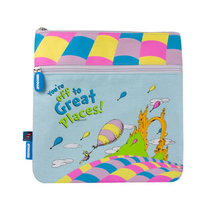 Amooze - Dr Suess - Oh The Places - Pencil Case (Large)