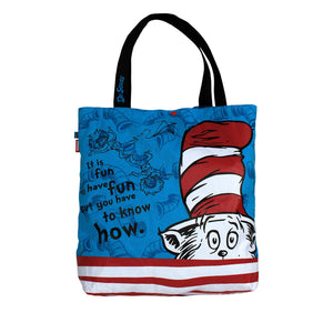 Amooze - Dr Suess - The Cat In The Hat - Tote
