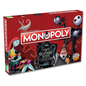 Monopoly - Nightmare Before Christmas Edition Board Game