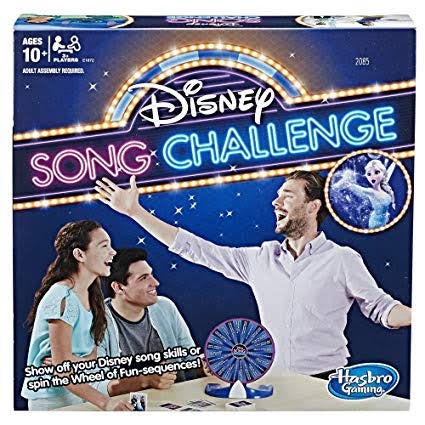 Disney Song Challenge Board Game