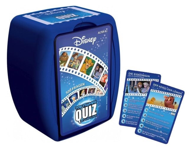 Top Trumps - Disney Classics Quiz Card Game