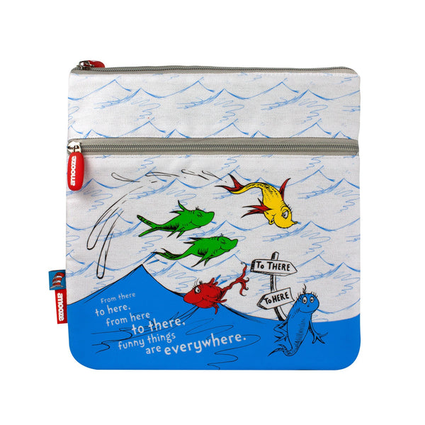 Amooze - Dr Suess - One Fish Two Fish - Pencil Case (Large)