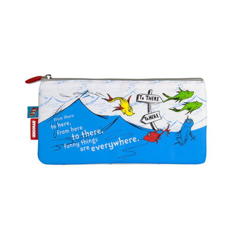 Amooze - Dr Suess - One Fish Two Fish - Pencil Case (Small)