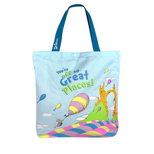 Amooze - Dr Suess - Oh The Places - Tote
