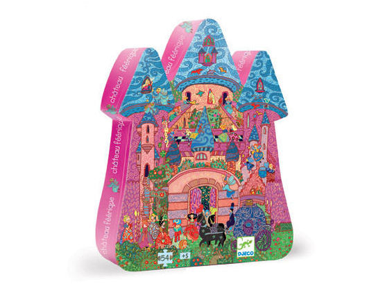 Djeco - The Fairy Castle Puzzle - 54 Pieces