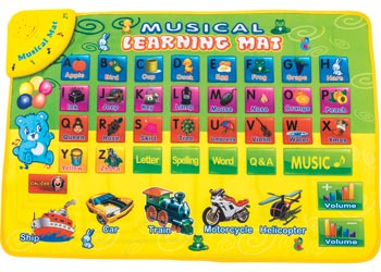 Alphabet Musical Mat
