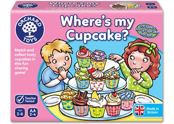 Orchard Toys - Where's My Cupcake?