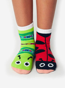 Pal Socks - Ladybug & Caterpillar (4 - 8 Years)