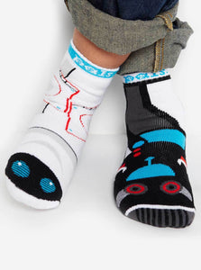 Pal Socks - Space Robot & Earth Robot (4 - 8 Years)