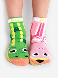 Pal Socks - Alligator & Flamingo (1 - 3 Years)
