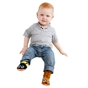 Pal Socks - Bear & Bee (1 - 3 Years)