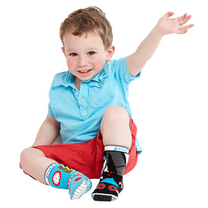 Pal Socks - Space Robot & Earth Robot (1 - 3 Years)