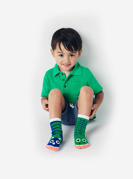 Pal Socks - T-Rex & Triceratops (1 - 3 Years)