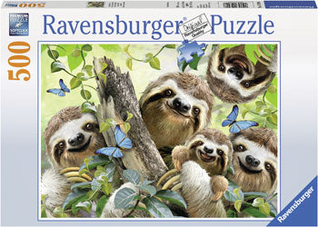 Ravensburger Puzzle - Sloth Selfie - 500 Pieces
