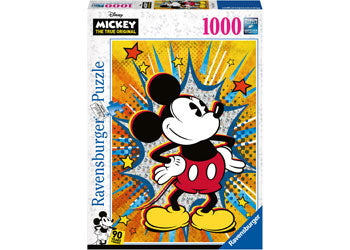 Ravensburger Puzzle - Disney Retro Mickey - 1000 Pieces