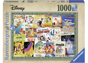 Ravensburger Puzzle - Disney Vintage Movie Posters - 1000 Pieces