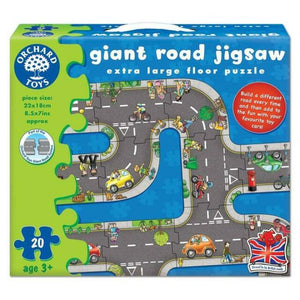 Orchard Toys - Giant Road Jigsaw - 20 Pieces
