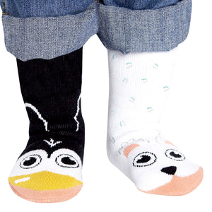 Pal Socks - Polar Bear & Penguin (1 - 3 Years)