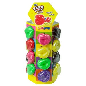 Kiss Pop Tower 24s, Candy, Exclusive Candy, [variant_title] - Tevan Enterprises
