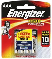 Energizer Max 4/AAA Batteries, Batteries, Classy Imports, [variant_title] - Tevan Enterprises