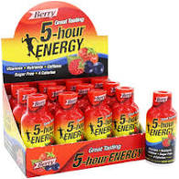 5 HR Energy Drink Berry 57ml 12's
