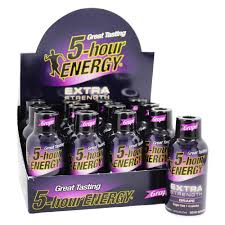 5 HR Energy Drink X-Strong Grape 57ml 12's